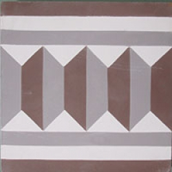 Cement Tile Border 207B