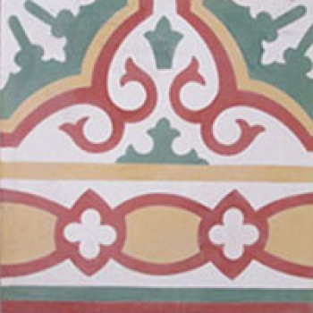 Cement Tile Border A120B
