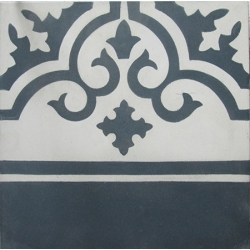 Cement Tile Border TD107B